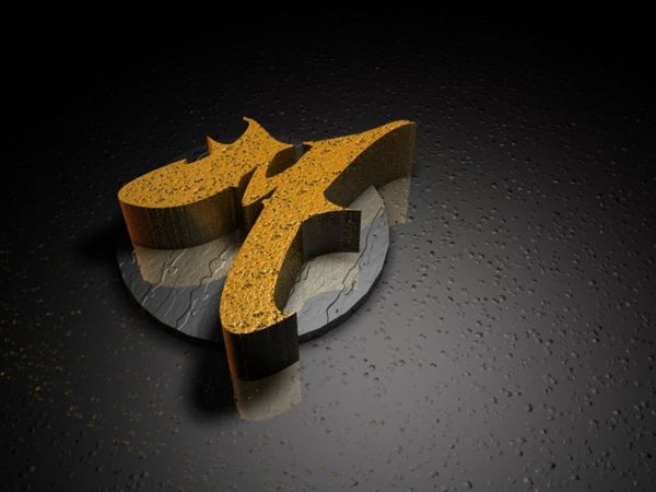 M 3d Logo 3d Logo Design Sample For