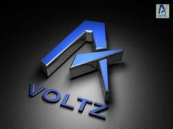 Z 3d Logo Design 3d logo design of voltz for a gamer. Logo was created by customer and ...